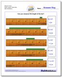 Measure Inches Eighth Lengths, Whole Start www.dadsworksheets.com/worksheets/inches-measurement.html Worksheet