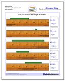 Measure Inches Sixteenths Length, Sixteenths Start www.dadsworksheets.com/worksheets/inches-measurement.html Worksheet