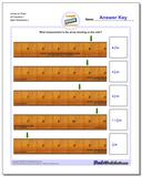 Inches on Ruler All Fraction Worksheets 1 www.dadsworksheets.com/worksheets/inches-measurement.html