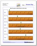 Mark Inches on Ruler All Fraction Worksheets 2 www.dadsworksheets.com/worksheets/inches-measurement.html
