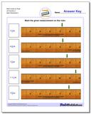 Mark Inches on Ruler All Fraction Worksheets 2