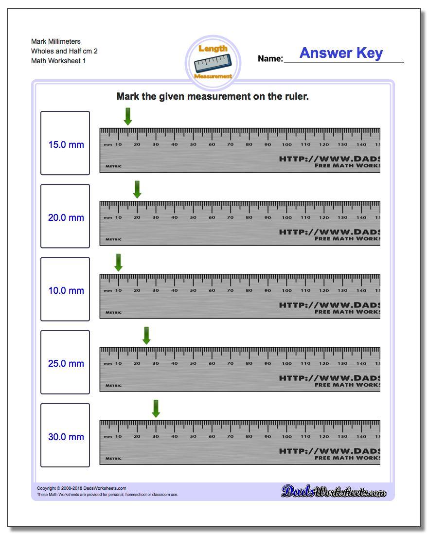 math worksheet : mark the ruler : Fractions On A Ruler Worksheet