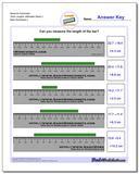 Measure Centimeter Tenth Lengths, Millimeter Starts 2 www.dadsworksheets.com/worksheets/metric-measurement.html Worksheet
