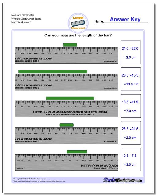 This is an image of Irresistible Millimeter Printable Ruler