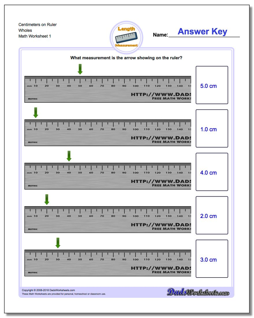 worksheet Measuring In Centimeters Worksheet metric measurement 24 worksheets