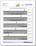 Centimeters on Ruler Tenths 2 www.dadsworksheets.com/worksheets/metric-measurement.html Worksheet