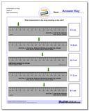 Centimeters on Ruler Tenths 3 www.dadsworksheets.com/worksheets/metric-measurement.html Worksheet