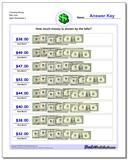 Counting Money Bills Only www.dadsworksheets.com/worksheets/money.html Worksheet