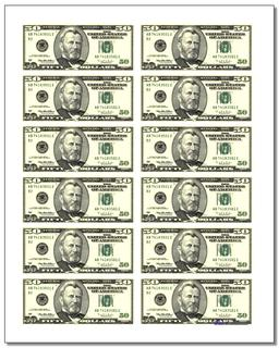 picture about Free Printable Money referred to as Printable Perform Revenue