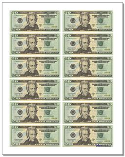 photo relating to Printable Play Money Front and Back named Printable Perform Dollars