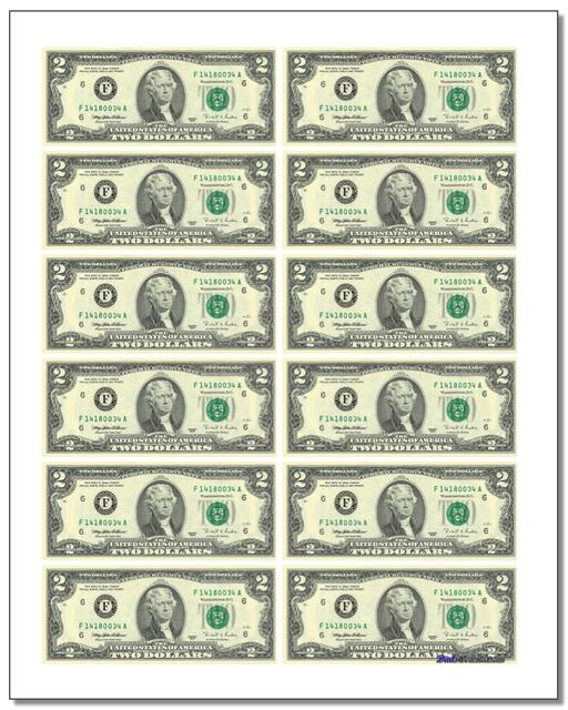 Gargantuan image for printable fake money