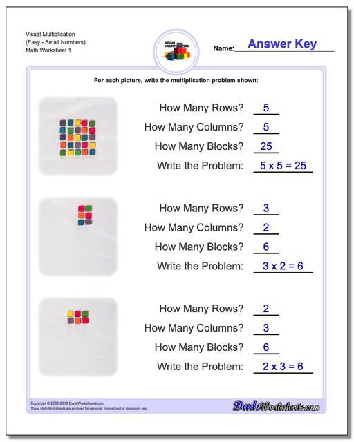 844 Free Multiplication Worksheets for Third, Fourth and ...