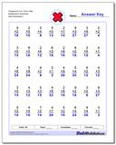 Progressive Four Times Table Multiplication Worksheet www.dadsworksheets.com/worksheets/multiplication.html