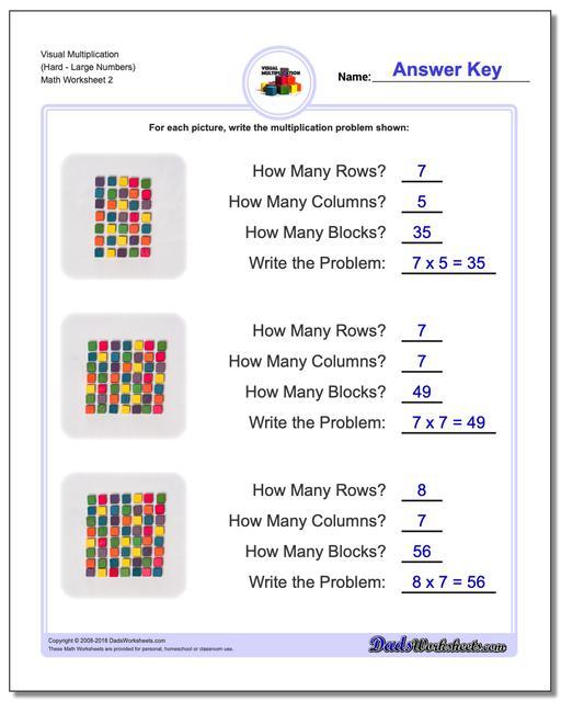 Worksheets Hard Multiplication Worksheets visual multiplication worksheets worksheet hardlarge numbers www dadsworksheets com worksheetsmultiplication