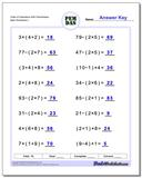Order of Operations With Parentheses www.dadsworksheets.com/worksheets/order-of-operations.html Worksheet