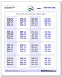 More Put the Six Digit in Numbers Least to Greatest Order www.dadsworksheets.com/worksheets/ordering-numbers.html Worksheet