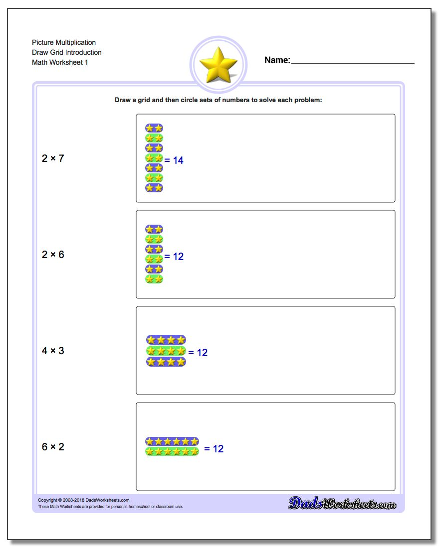 Multiplication Draw Grid – Multiplication Grid Worksheets