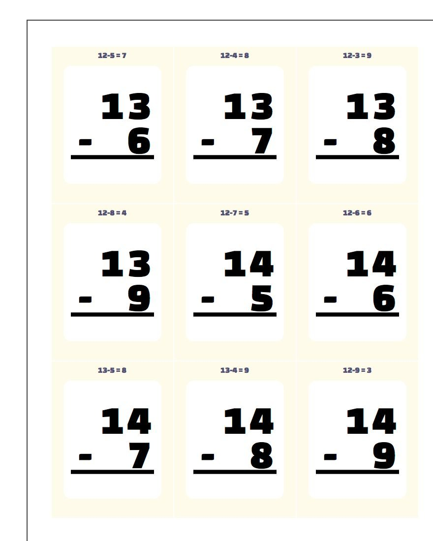 Worksheet Multiplication Flash Cards Printables subtraction flash cards flashcards 2 printable cards