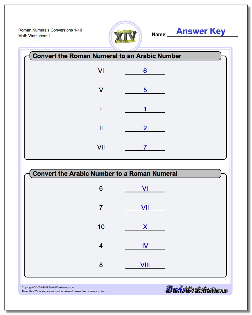 Math Worksheets – 10 Grade Math Worksheets