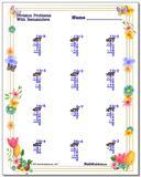 Spring Division Worksheet