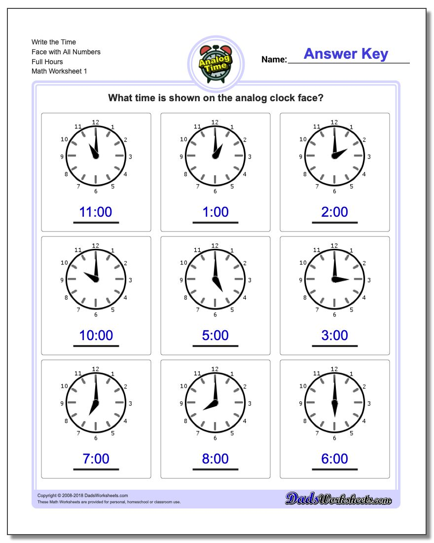 Math worksheets telling analog time telling analog time worksheet ibookread