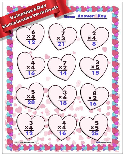 multiplication-easy-facts-large Valentine Day Math Worksheets Multiplication on valentines day lesson plans, valentines day reading worksheets, valentines day place value, valentines day school worksheets, valentines day flash cards, valentines day preschool worksheets, valentines day printable worksheets, valentines day subtraction worksheets, valentines day multiplication problems, valentines day math worksheets, valentines day telling time worksheets, valentines day fractions worksheets, valentines day fun worksheets,